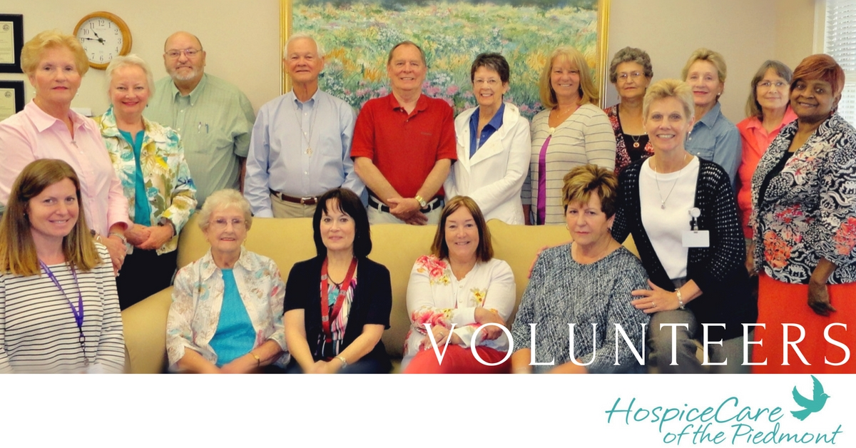 2016 Spring Volunteers - HCP